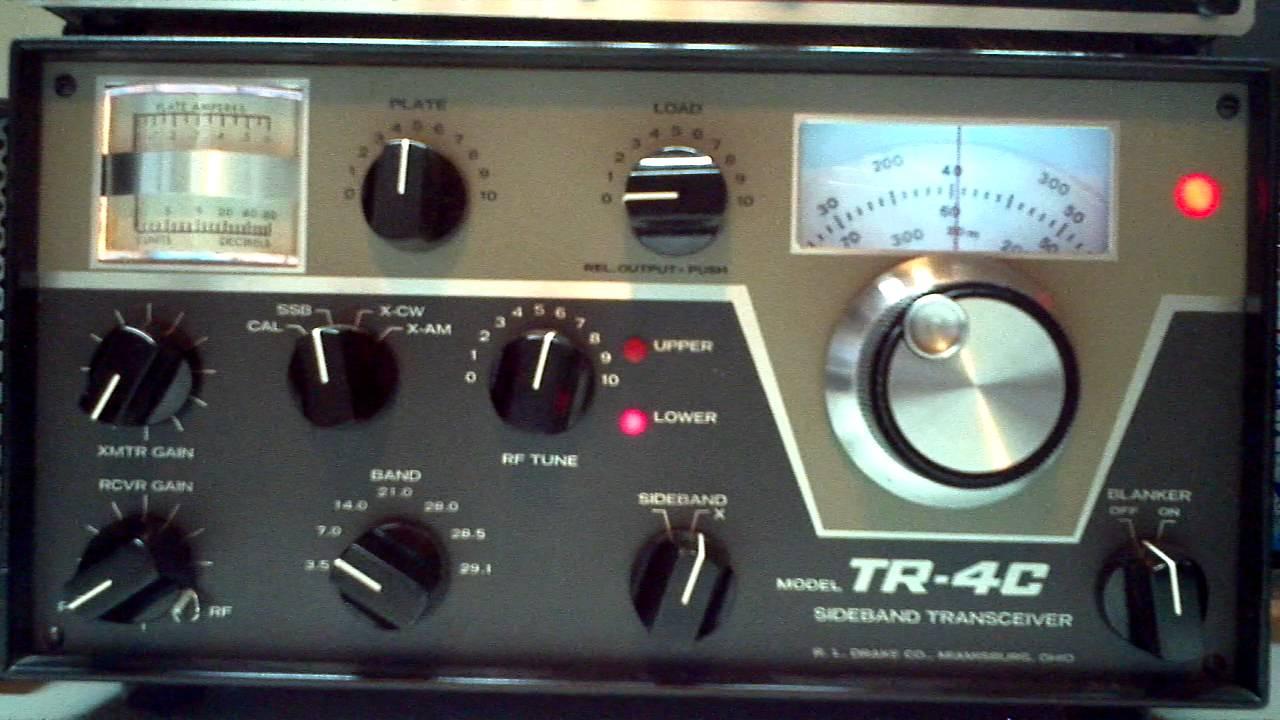 chocolate box fuse box holder drake tr 4c tuning up ham radio youtube fuse box part
