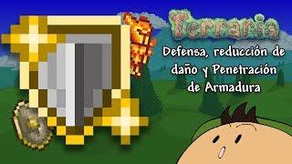[Terraria 1.3.5] Defensa, Reducción de Daño y penetración de armadura