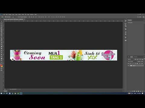 Hướng dẫn thiết kế băng rôn đơn giản bằng Photoshop CC2019   Hải Thanh Design