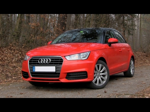 2017 Audi A1 1.0 TFSI (95 HP) TEST DRIVE