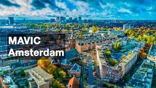 Amsterdam Netherlands Drone