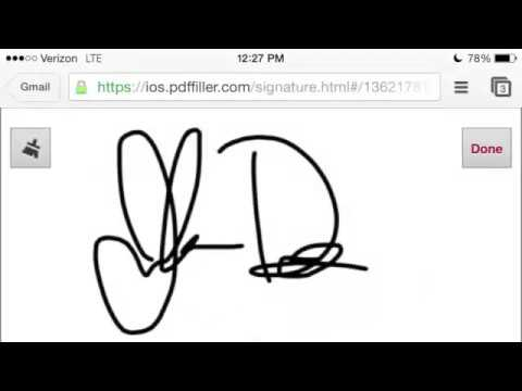 How To Sign PDF Documents Online (Electronic Signature pdf