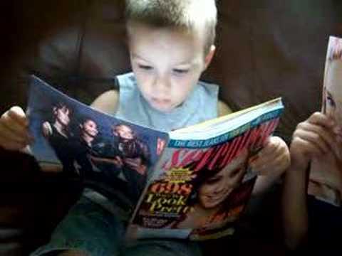 Boys read Seventeen Magazine too