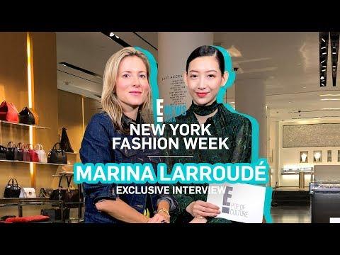 NYFW 2018 x MARINA LARROUDE   E! VIP   E! News Asia
