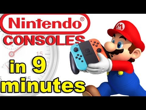 History of NINTENDO CONSOLES: From the FamiCom to World Domination!