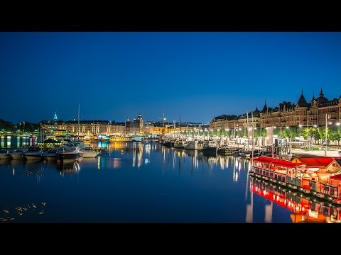 Venice of the North - Stockholm Time-Lapse