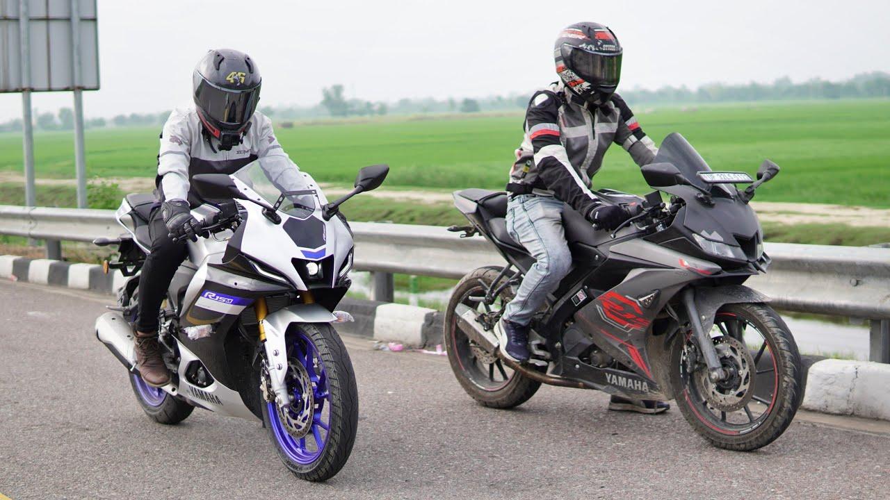 Download Yamaha R15M VS R15 V3 | Comparison & Top End Race!!