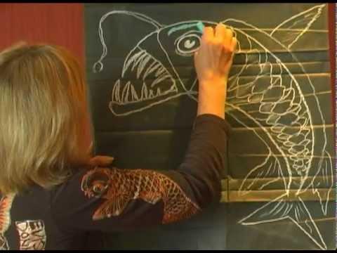 How To Make Viper Fish By Jan Brett