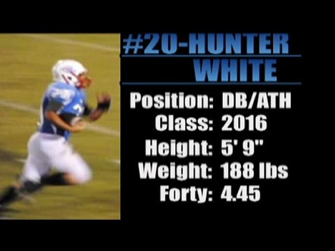 2016-'Street Light Recruiting' ATH- HUNTER WHITE 'Horseshoe Bend High School' (New Site, AL)