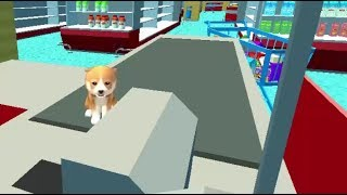 DOG SIMULATOR PUPPY CRAFT GAME LEVEL 7-9 GAME WALKTHROUGH