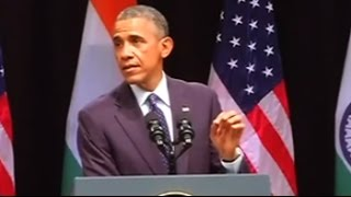 'Sisters and brothers of India', says President Obama quoting Swami Vivekananda