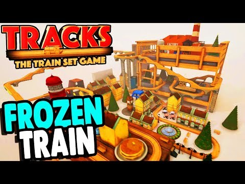 BEST TRAIN GAME EVER, Wooden Block Railroad | Tracks Gameplay