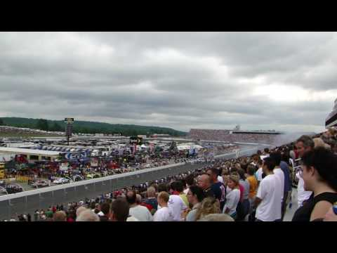 Star Spangled Banner at Lenox 301 Industrial Tools, New Hampshire Motor Speedway.