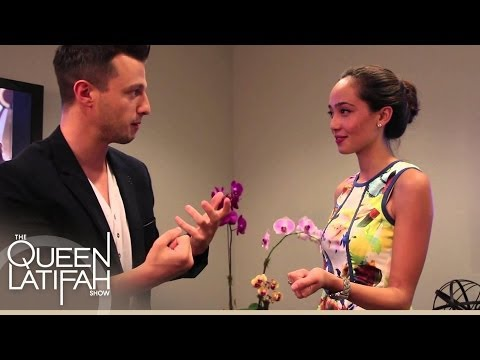 Mat Franco Leaves the Staff Speechless | The Queen Latifah Show