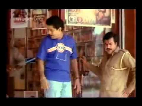 Raju & Jagathy hilarious Hindi conversation : Ayalathe Adeham Comedy Scene