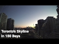 View of Toronto's skyline for 180 days