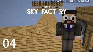 Sky Factory 3 w/ xB - STARTER MOB FARM [E04] (Minecraft Modded Sky Block)