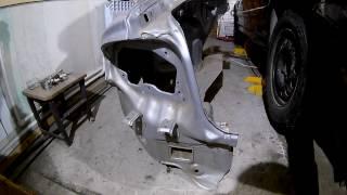 Кузовной ремонт Хёндай Соната 1 часть