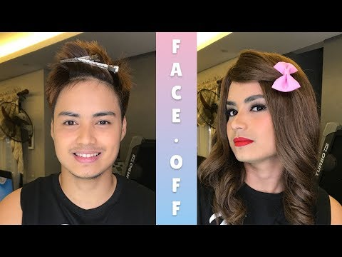 Makeup Challenge: Man to Woman Transformation