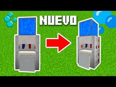 👉 Minecraft | Como Hacer Un NUEVO Dispensador De AGUA (Como El De Tu Casa)