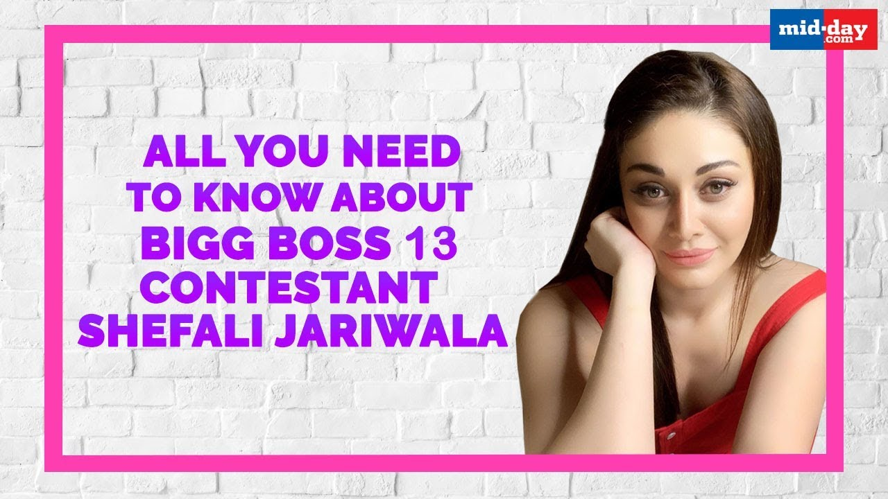 All You Need To Know About Bigg Boss 13 Contestant Shefali Jariwala