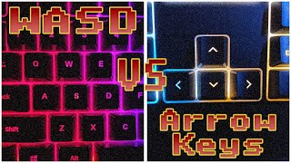 Roblox | Wasd Keys Vs. Arrow Keys
