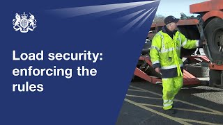 Load security: how DVSA enforces the rules