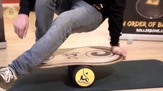 RollerBone Balance Board Introduction and Tricks