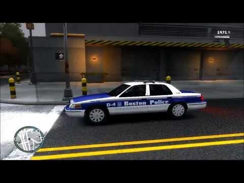 GTA IV LCPDFR 0.95 Day 157 - Boston Police Patrol