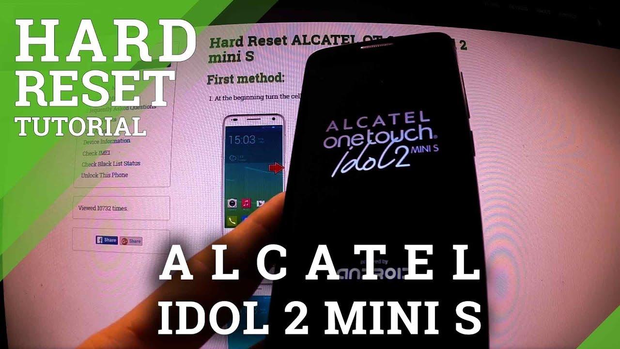 Alcatel lucent phone reset password