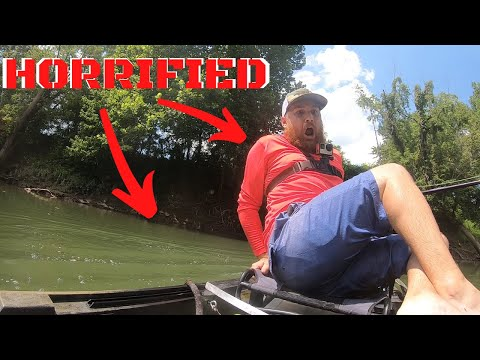MASSIVE SNAKE Crawls In My Boat While MUSKY FISHING (SCARED)