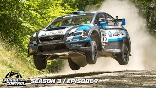 Travis Pastrana & David Higgins Rally America  - Launch Control Eps 7 Season 3