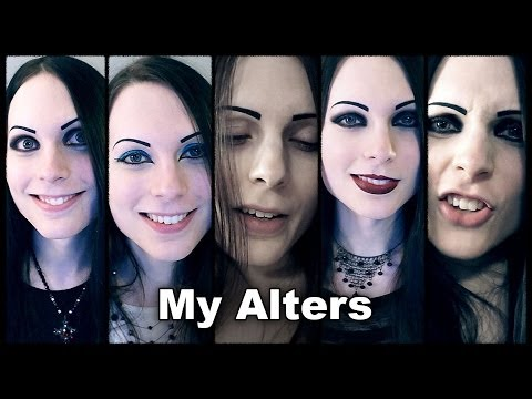 Meet My Alters / Personalities | Dissociative Identity Disorder DID