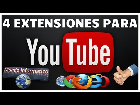 4 Extensiones para Una Mejor Navegaciòn En YouTube...!!!