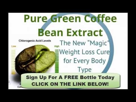 Green Coffee Bean Extract Ingredients 100%