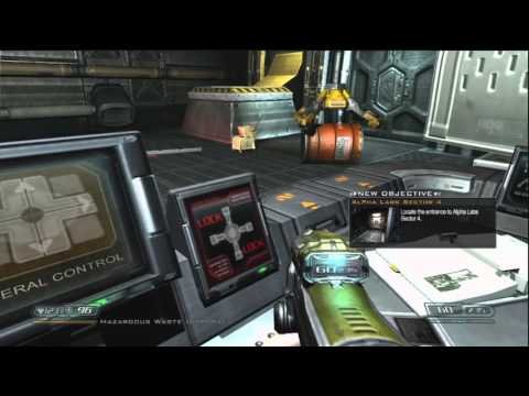 Let's Play Doom 3 BFG Edition Ep. 7- Alpha Labs Sector 3