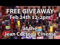 Jean Cocteau Cinema | Fiery Foods Show | Los Foodies 2nd Annual Giveaway