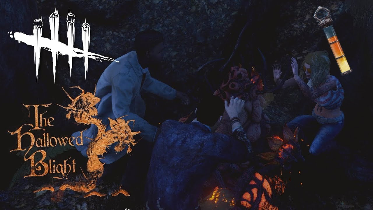 MILKING CANKERS! with my GF   Dead By Daylight HALLOWED BLIGHT EVENT