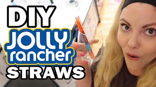 DIY Jolly Rancher Straws, Corinne VS Cooking