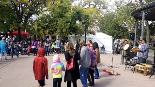Santa Fe Indigenous Day Commemoration 2018 - Sun Hill Hand Drums