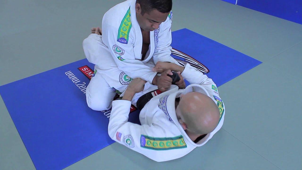 Brazilian Jiu Jitsu Guard Control Techniques - Charles Gracie BJJ Moves