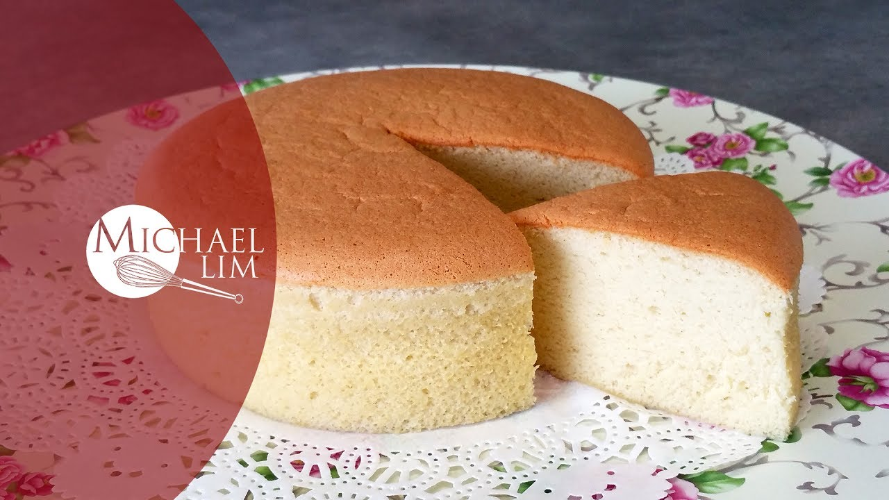 Japanese Sponge Cake Recipe Youtube: Cotton Sponge Cake