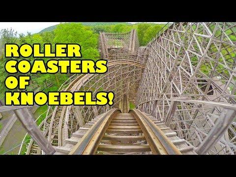 Roller Coasters Of Knoebels Amusement Resort! All Of Them!