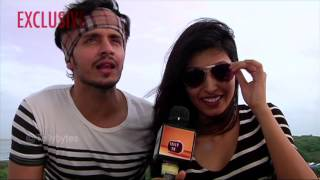 Param and Harshita aka Randhir and Sanyukta of Sadda Haq in conversation with Tellybytes