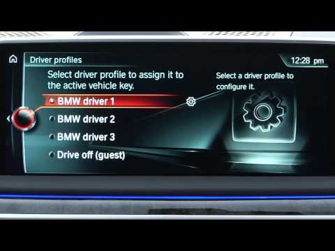 Personalize Driver Profiles | BMW Genius How-To