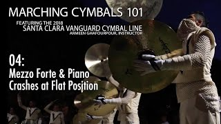 Marching Cymbals 101: 04 Softer Crashes at Flat