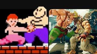 Evolution of Fighting Games 1980-2019