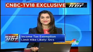 Income Tax Exemption Limit Hike Likely: Sources | What's Hot With Shereen Bhan