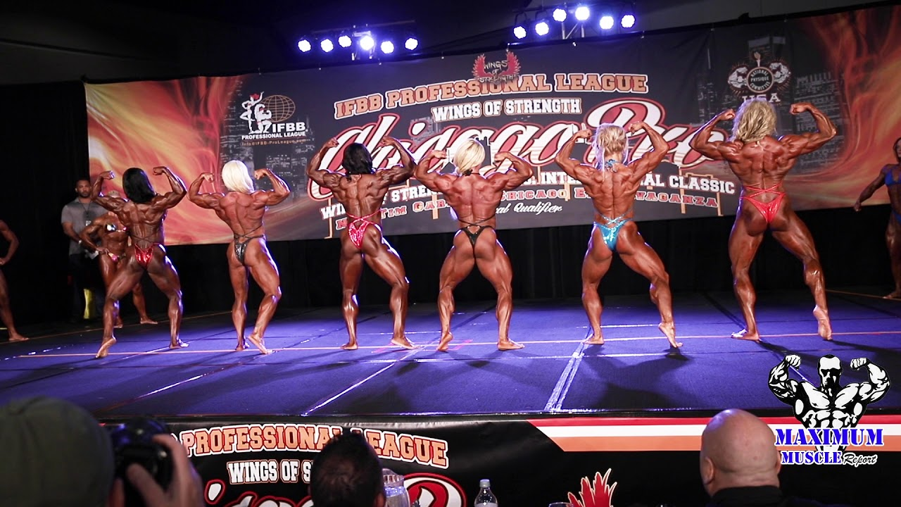 First Call Outs Women's Bodybuilding | 2019 IFBB Professional League  Chicago Pro
