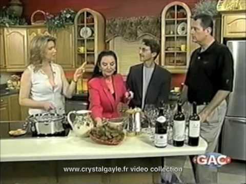 Crystal Gayle  Lorianne Crooks  celebrity kitchen  part 6